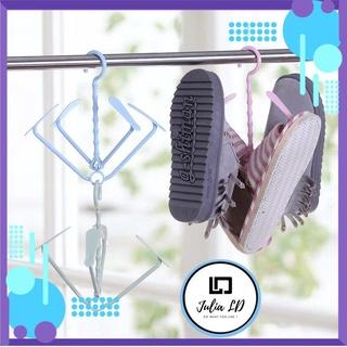 Móc treo phơi giày thông minh xoay 360 độ - Dụng cụ móc phơi giày Julia LD thumbnail