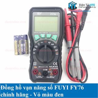 Đồng hồ vạn năng số FUYI FY76 Chính hãng [HTE-PLK-CN2]