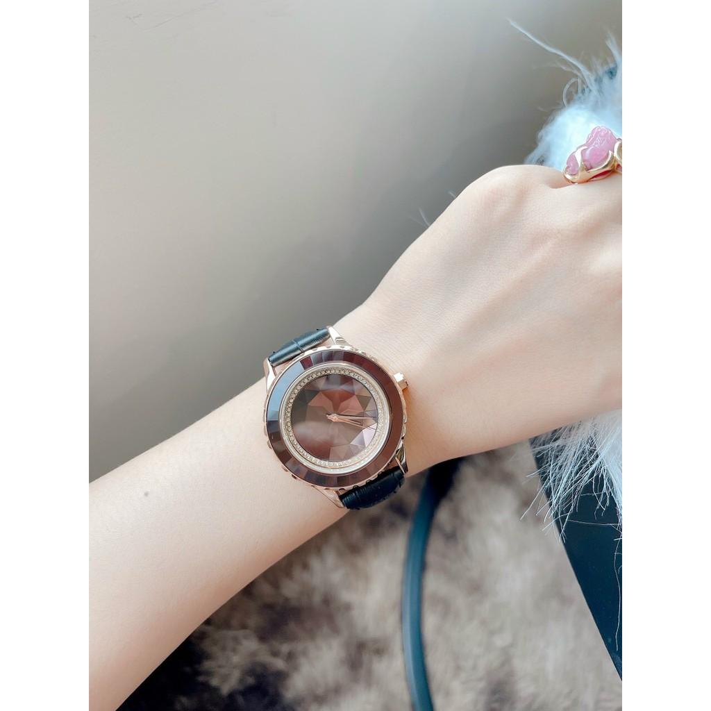 Đồng hồ nữ Dimini dây da lôi cuốn mọi ánh mắt