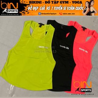 Aó Tank Nữ tập yoga, gym, aerobic thể thao Bin Sports A095 thumbnail