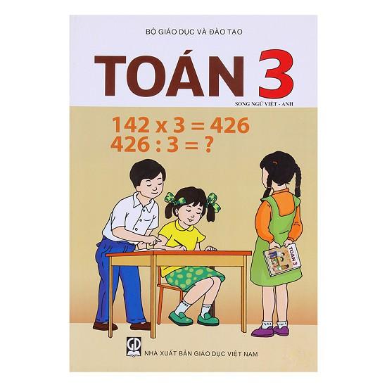 Sách Toán 3 - Sách Giáo khoa Song ngữ Việt - Anh