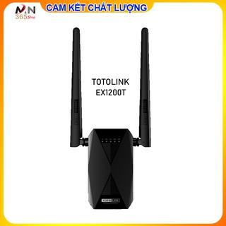 Bộ kích sóng WiFi Băng tần kép AC1200 – TOTOLINK EX1200T ( BH 2 năm)