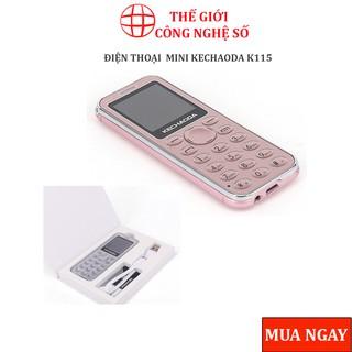 Điện thoại mini Kechaoda K115 ☢️FreeShip☢️ kiêm tai nghe bluetooth 3 sóng siêu mỏng,nhỏ gọn BH 12 tháng ☢️FreeShip☢️