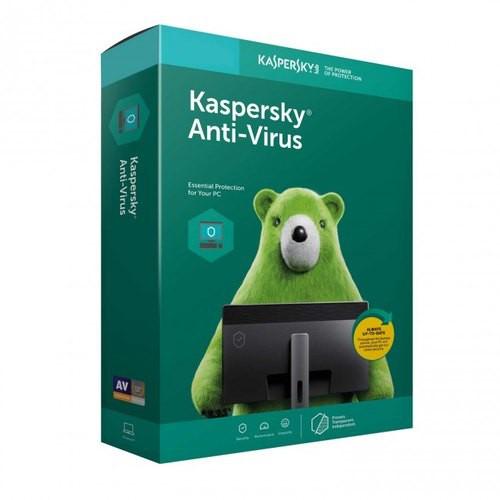 Phần Mềm Diệt Virus Kaspersky Anti Virus cho 1-3PC/1Year