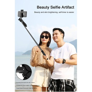 Gậy Selfie hỗ trợ vLogger cao cấp ổn định video All-in-One A21 - Home and G