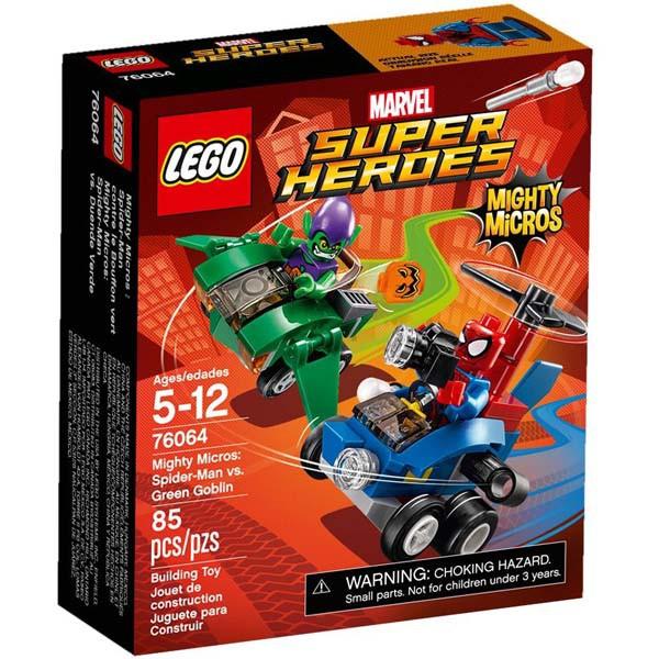 Lắp ráp LEGO Người Nhện Đại Chiến Green Gobl 76064
