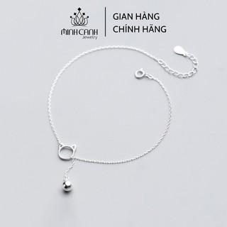 Lắc Chân Bạc Mèo Mix Chuông - Minh Canh Jewelry thumbnail