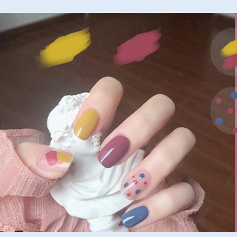A20 - A40] Sơn Móng Tay Nail Styler - style kẹo ngọt - QUÀ TẶNG - LESIE STORE - MILLER KOREAN   Shopee Việt Nam