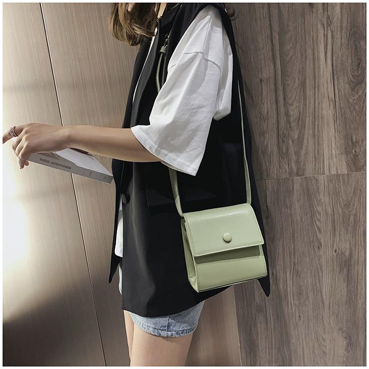 Túi xách da nữ đeo chéo trơn hàng Quảng Châu Cao Cấp TXN08 - Giá Sỉ 9999