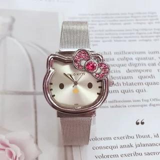 Đồng hồ Mèo Cho Bé Gái