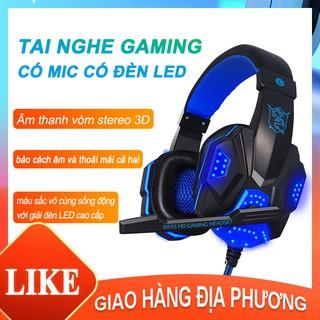 PLEXTONE PC780 Tai nghe gaming có mic có đèn LED cho máy tính, Tai nghe chụp tai gaming, tai nghe chơi game PUBG[M10001]