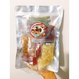 [1kg] SET ĐẠI – Chè dưỡng nhan tuyết yến 15 vị đầy đủ