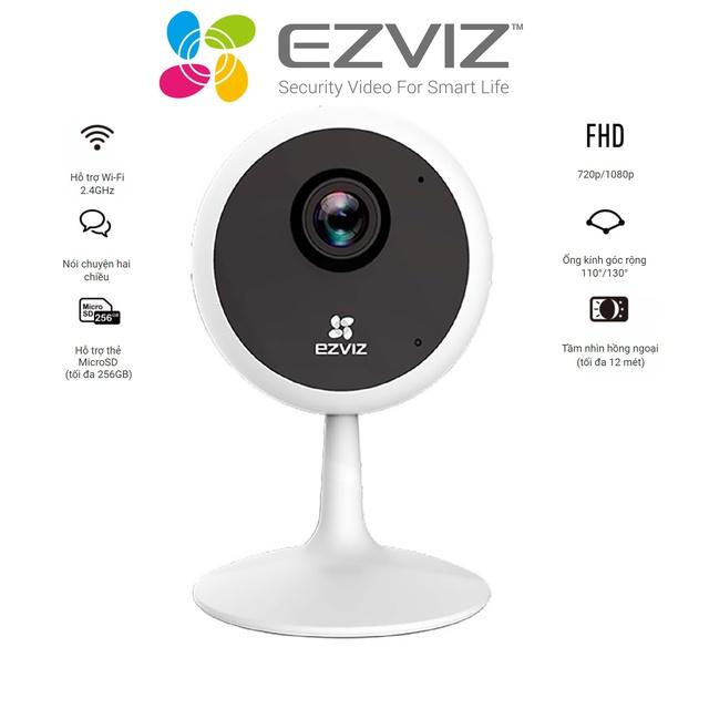Camera wifi đa năng Ezviz C1C 1MP 720p/2MP 1080p - Hàng chính hãng