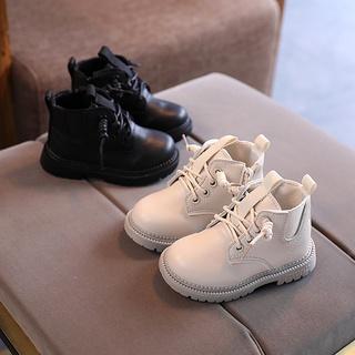 Giày Bốt Cổ Cao Kiểu Cách Hàn Quốc Dành Cho Bé Size 21-30 thumbnail