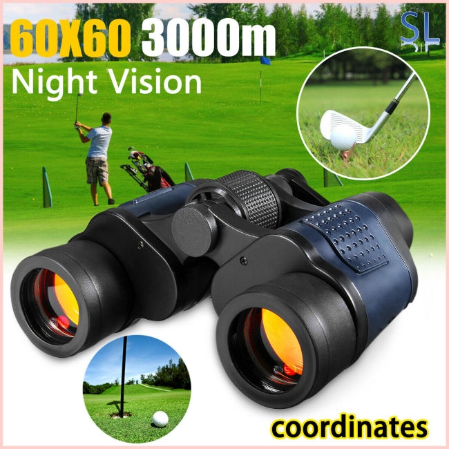 60×60 Day/Night Telescope Zoom Ultra HD Binoculars for Hunting Camping