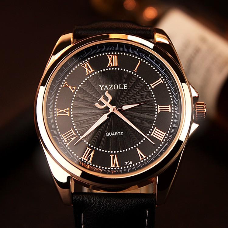 Đồng hồ nam Yazole V10 hiển thị Analog dây da bền màu - 3475474 , 1027743388 , 322_1027743388 , 254000 , Dong-ho-nam-Yazole-V10-hien-thi-Analog-day-da-ben-mau-322_1027743388 , shopee.vn , Đồng hồ nam Yazole V10 hiển thị Analog dây da bền màu