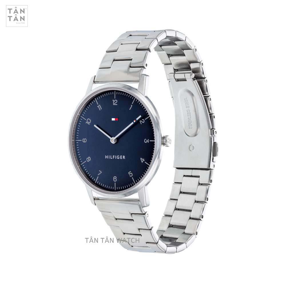 Đồng hồ Tommy Hilfiger 1791581 Nam Máy Pin Dây Kim Loại 40mm