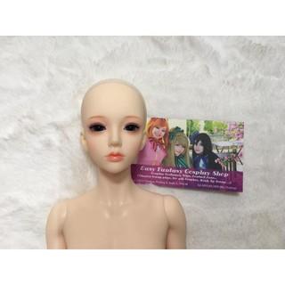Búp bê khớp cầu – BJD girl 1/4 rc – Nude đã fu