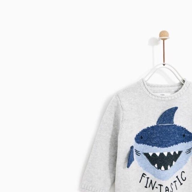 Combo 5 áo len Zara cá mập cho bé