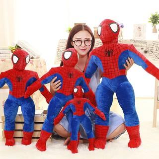 [Mã TOYNOV giảm 10% tối đa 15K đơn từ 50K] Gấu bông gối ôm siêu nhân người nhện đủ size