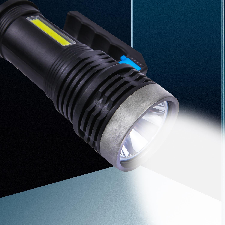 Đèn Pin Cầm Tay Chống Thấm Nước Có Cổng Sạc Usb - Đèn pin