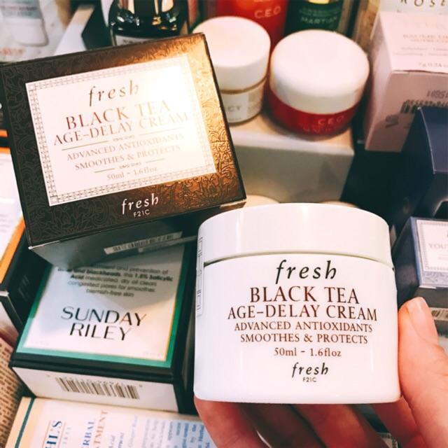 [Fresh] Kem dưỡng trà đen chống lão hóa Black Tea Age-Delay Cream