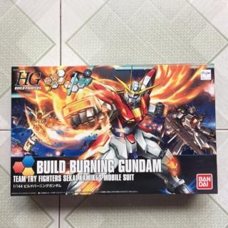 Mô Hình HGBF 018 Build Burning Gundam