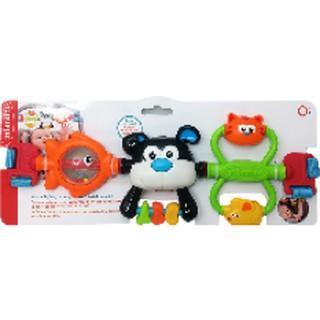 Thanh đồ chơi treo nôi, cũi, xe đẩy, ghế ngồi ô tô hình cún con ngộ nghĩnh và những người bạn Infantino