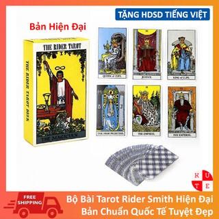 Bài Tarot Rider Tarot Phiên Bản Hiện Đại Kèm Hướng Dẫn Sử Dụng