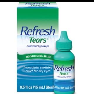 Nhỏ mắt Refresh tear_Nước mắt nhân tạo (Refresh tears)
