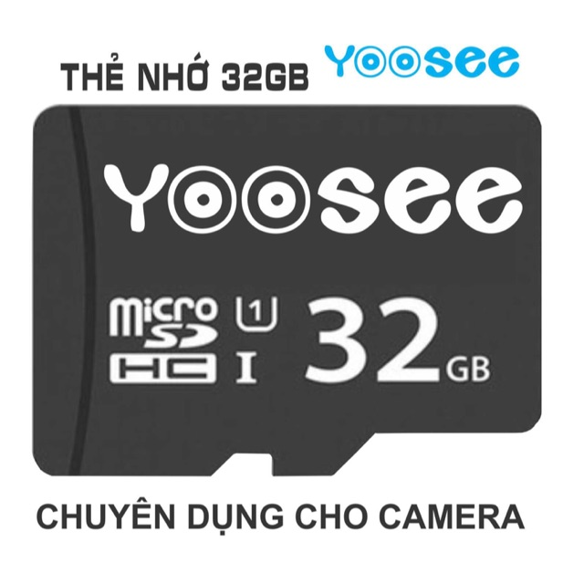 Thẻ nhớ Yoosee 32gb chuyên dụng camera ip