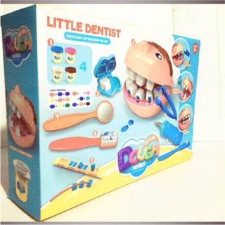 Hộp đồ chơi đất nặn để tự bé làm răng