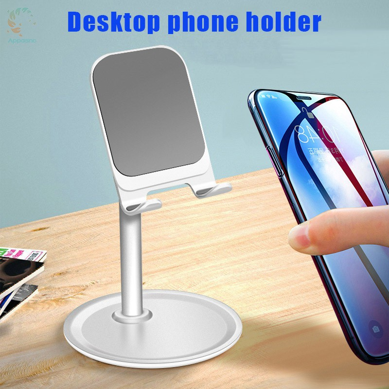 [BEST] Universal Desktop Phone Holder Stand Alloy Adjustable Bracket for Phone Tablet