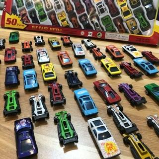 SET ôtô 50 chiếc sắt nhiều mẫu mã