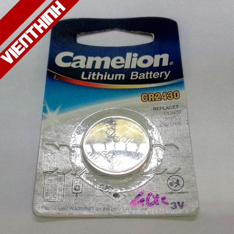 Pin cúc áo Camelion CR2430