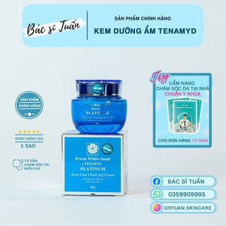 Kem Dưỡng Cho Da Dầu Mụn - TENAMYD Fresh White Sand Platinum Acne Clarifying Cream 60g [CHÍNH HÃNG] thumbnail