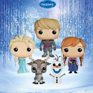 FUNKO POP Disney Frozen Princess Snow Princess doll Anna Elsa Olaf Action Figure toys for Kids Christmas Gift exhchange