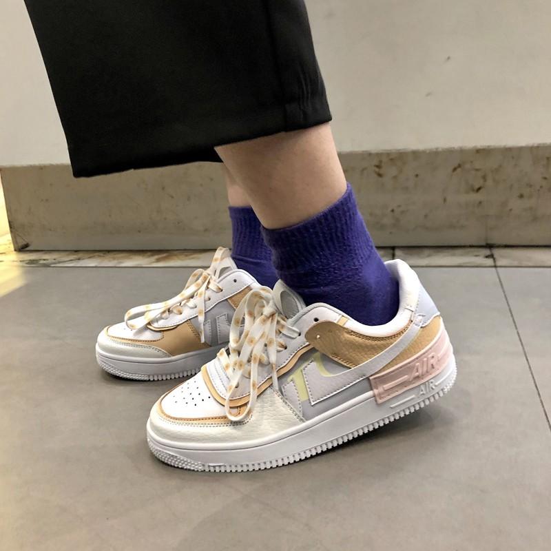 Giày thể thao nữ Hoa Cúc đế cao giày sneaker af shado phiên bản giới hạn G DRAGONN CAMSTORE  Hàng mới về hottrend 2020