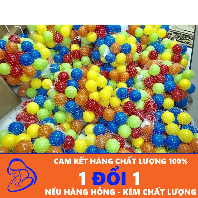 Túi 50 quả bóng nhựa 7cm