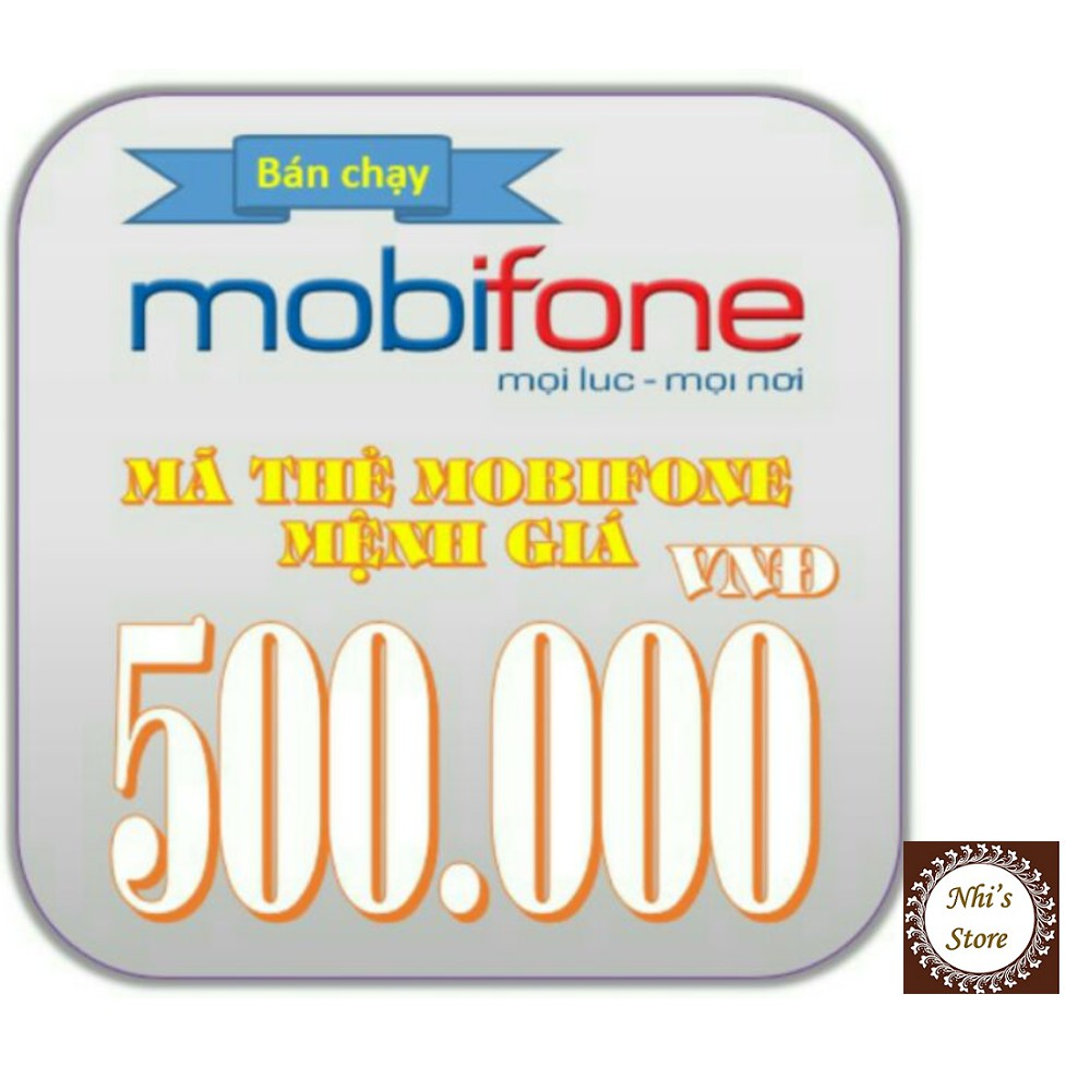 Mã thẻ Mobifone 500k (thẻ cào Mobi 500.000đ) - 3039725 , 323822257 , 322_323822257 , 458000 , Ma-the-Mobifone-500k-the-cao-Mobi-500.000d-322_323822257 , shopee.vn , Mã thẻ Mobifone 500k (thẻ cào Mobi 500.000đ)
