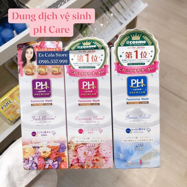 DUNG DỊCH VỆ SINH PHỤ NỮ PH CARE JAPAN