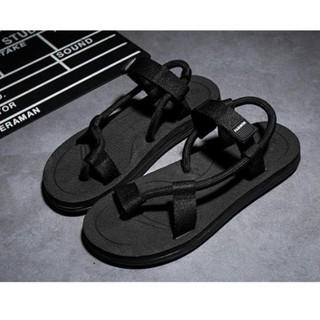 [Hàng Có Sẵn] Sandal nam nữ xỏ ngón, quai chéo - Xăng đan đôi đi du lịch thumbnail