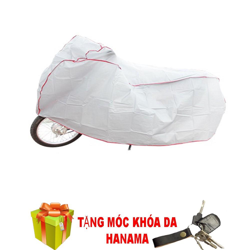 Bạt phủ xe máy hàng Việt NAM tặng móc khóa da