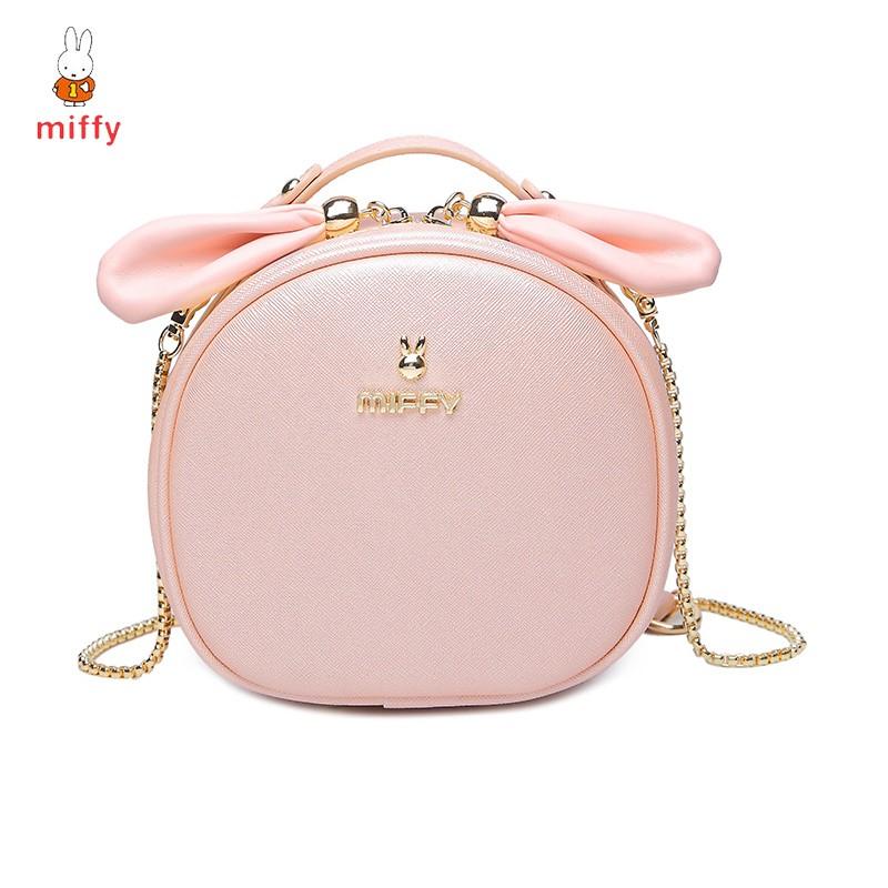 Túi xách MIFFY hình tròn phong cách Hàn Quốc cực cute M1001