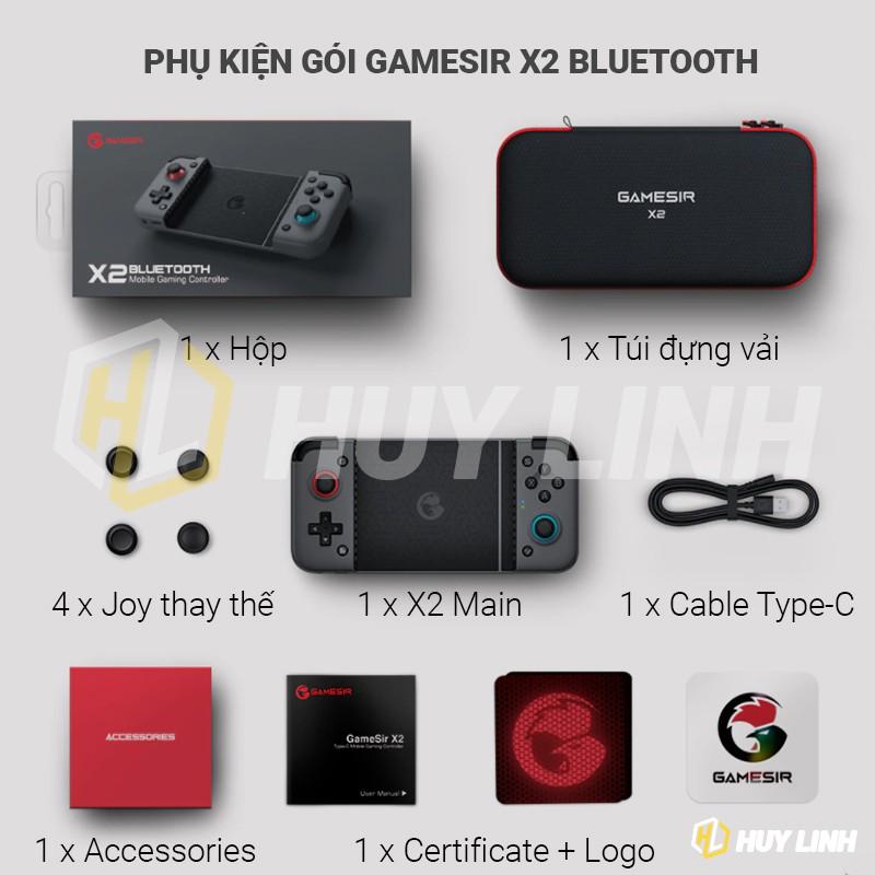 Tay cầm chơi game Gamesir X2 Bluetooth - Hỗ trợ đa nền tảng Android/IOS đạt MFI