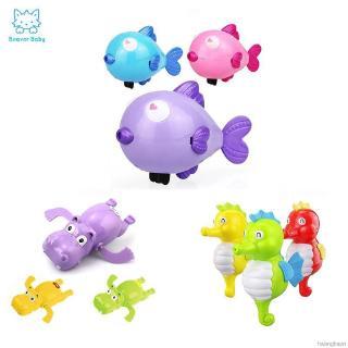Baby Bath Toys Lovely Animal Clockwork Chain Bathtub Swimming Toy Kids Classic Toys