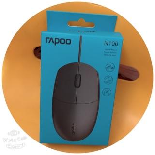 Chuột văn phòng Rapoo N100 siêu bền(loại có dây)