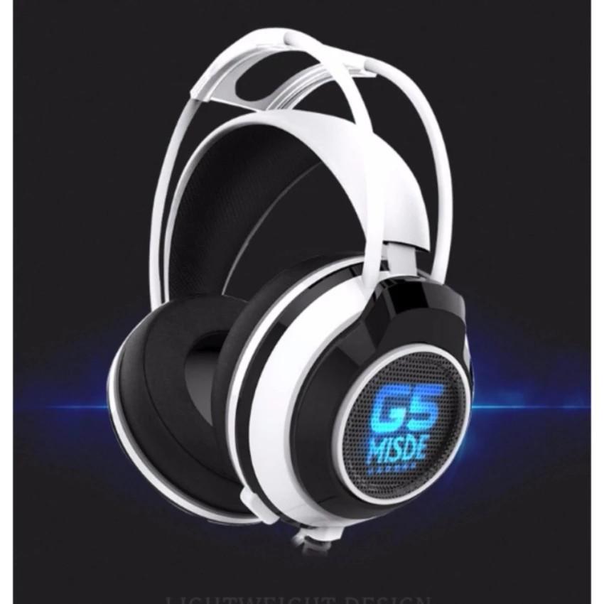 Tai nghe game thủ G5 Misde 2017 (trắng đen) -dc2412