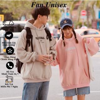 Áo khoác nỉ hoodie Purbsso form rộng nam nữ mặc đẹp unisex KNN36 - Fan Unisex thumbnail