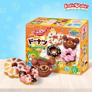 Kẹo đồ chơi Popin Cookin Donuts – Bộ làm bánh Donut